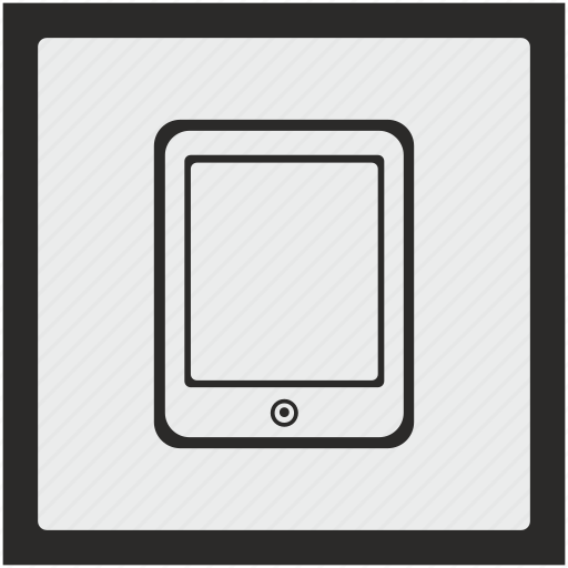 ebook, function, ipad, reading, square icon