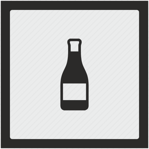 bottle, function, ketchup, square, tomato icon