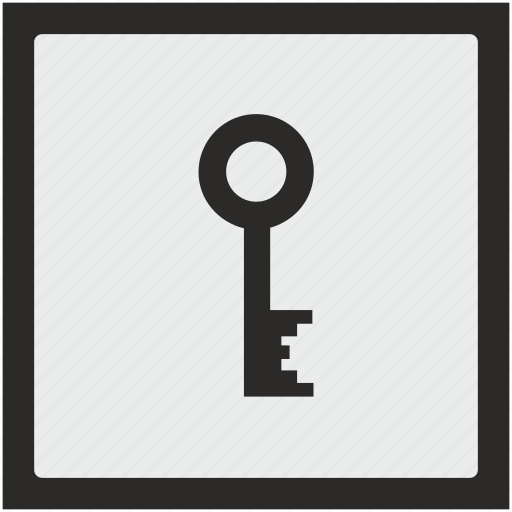 code, function, key, password, pin, square icon