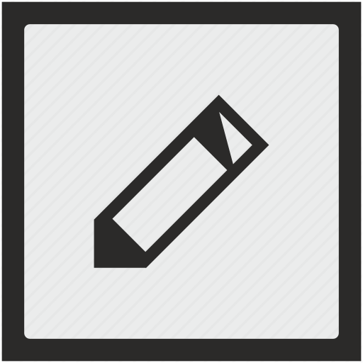 edit, function, instrument, pen, pencil, square, tool icon