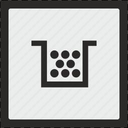 cartridge, color, function, printer, square icon
