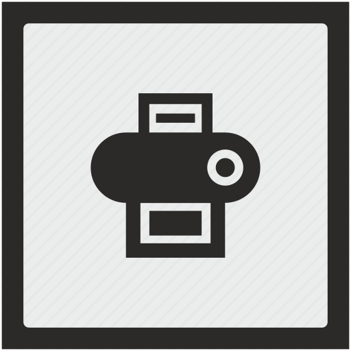 Device, function, printer, square icon - Download on Iconfinder