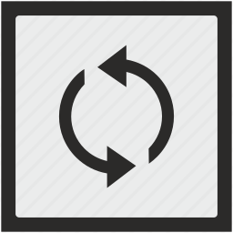 function, loading, process, reload, square icon