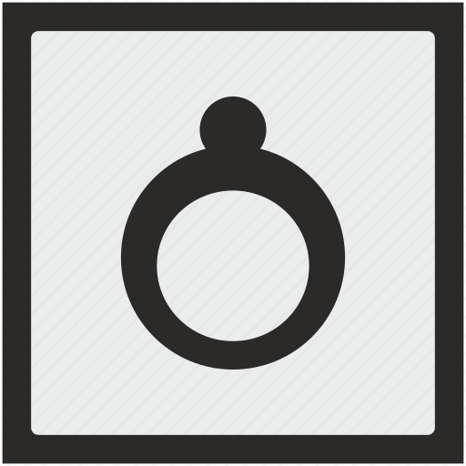 function, jewelry, rich, ring, square icon