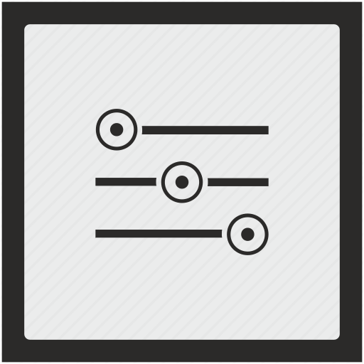 configuration, function, settings, square, tool icon