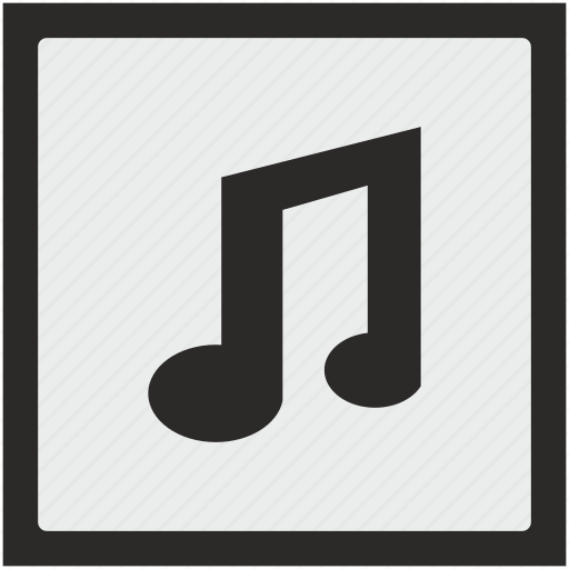 function, music, mute, note, sound, square icon