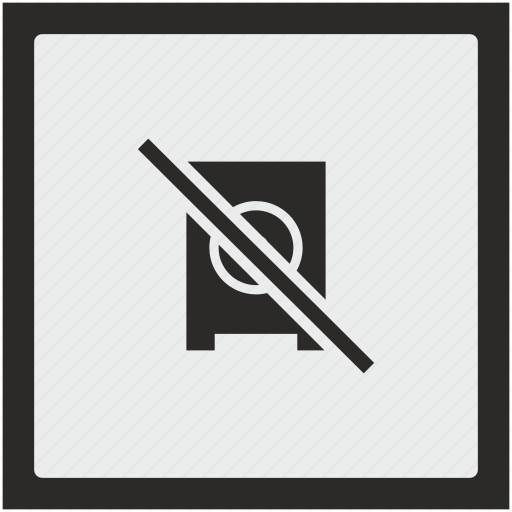 ban, function, music, mute, speaker, square, stop icon