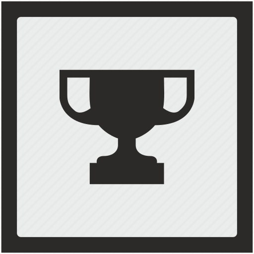 champion, cup, function, square, winner icon