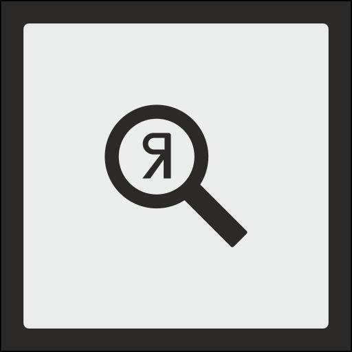 optimization, scan, search, seo, square, yandex icon