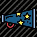 bullhorn, loudspeaker, megaphone, shout icon
