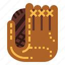 baseball, clothes, glove, protection, security icon