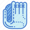 baseball, clothes, glove, protection, security icon