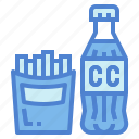 beverage, fast, food, junk icon