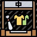 locker, athlete, dressing, room, gym
