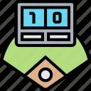 score, baseball, match, game, competition