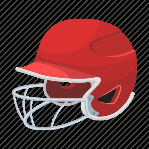 attribute, baseball, casque, equipment, helmet, protective, sport icon