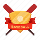 attribute, baseball, club, emblem, equipment, insignia, sport icon