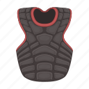 baseball, equipment, protection, sport, uniform, vest, waistcoat icon
