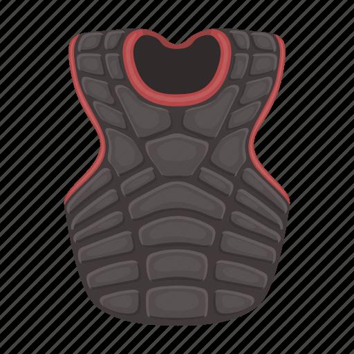 baseball, equipment, protection, sport, uniform, vest, waistcoat icon