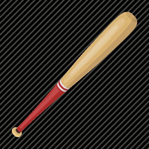 attribute, baseball, bat, equipment, sport, wooden icon