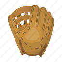 attribute, baseball, equipment, glove, sport, trap icon