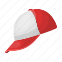 attribute, baseball, baseball cap, cap, equipment, headdress, sport icon