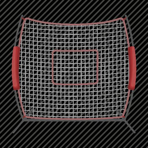 attribute, baseball, equipment, fencing, mesh, sport icon