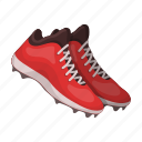 attribute, baseball, equipment, shoes, sneakers, sport, uniform icon