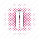 baseball, comics, halftone, jersey, pants, pink, team icon