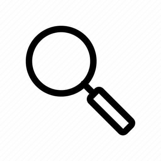 glass, in, magnifier, magnifying, out, search, zoom icon