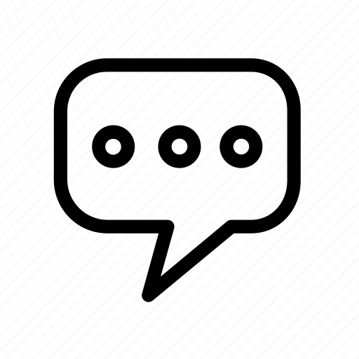 bubble, chat, chatting, conversation, dialogue, speech, talk icon