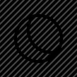 dark, moon, night icon