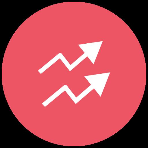Analysis, analytics, inflation, report, statistics icon - Free download