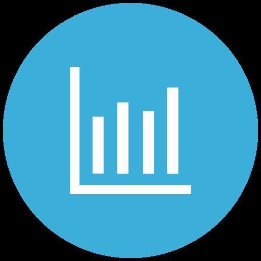 analysis, analytics, bar chart, bar graph, inflation, report, statistics icon
