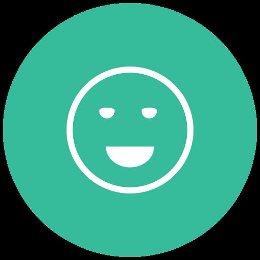 emoji, emot, emotion, good, great, happy, laugh icon