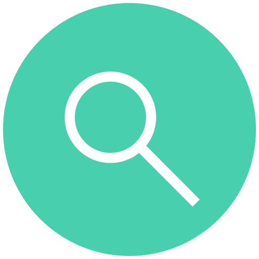 Search, zoom, magnifier, find, view icon
