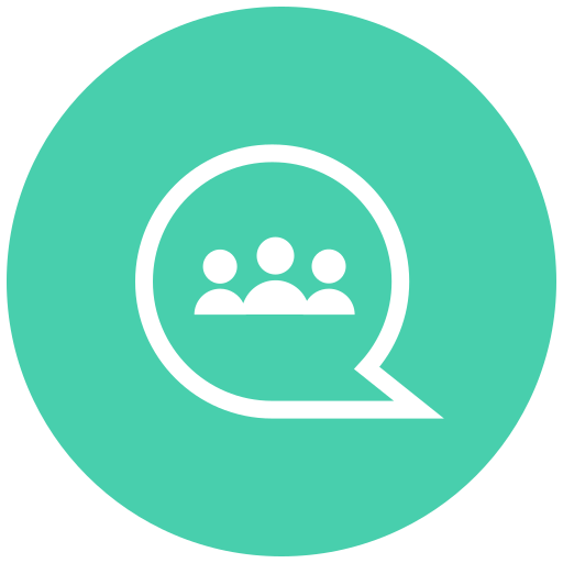 chat bubble, conversation, message, message bubble, messaging, starred conversation, talk icon