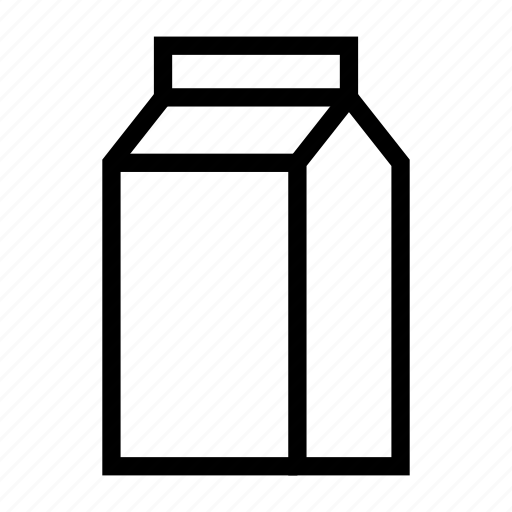 box, container, milk, packet, tetrapack icon