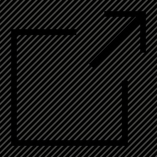 expand, fullscreen, maximize, resize, window icon