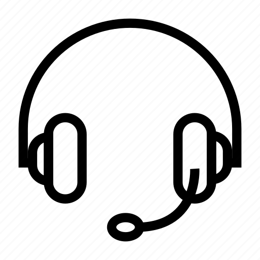 headphone, headset, helpline, services, support icon