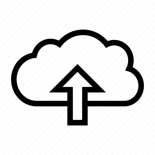 cloud, database, server, storage, upload icon