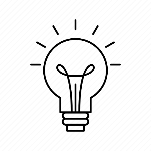 Bulb, electric, idea, light icon - Download on Iconfinder