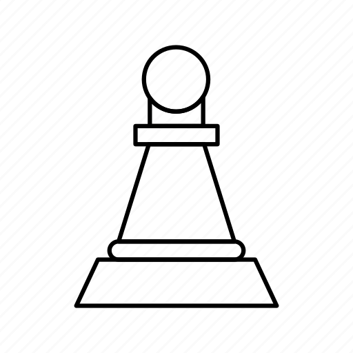 Chess, figure, pawn icon - Download on Iconfinder