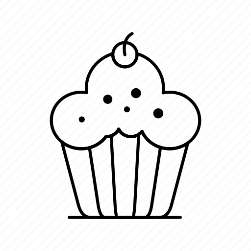 Brownie, cake, cupcake icon - Download on Iconfinder