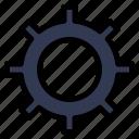 basic, cog, set, setting