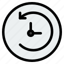 backup, clock, machine, time