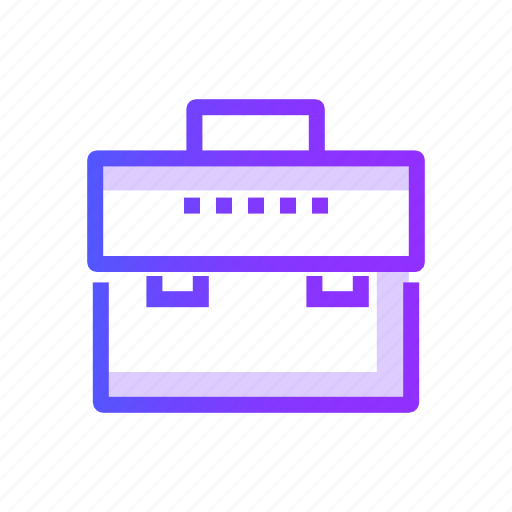 brifcase, business, case, portfolio icon