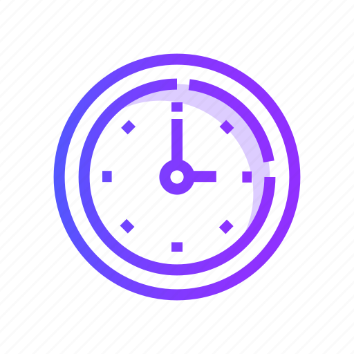 Clock, alarm, watch, timer, time icon