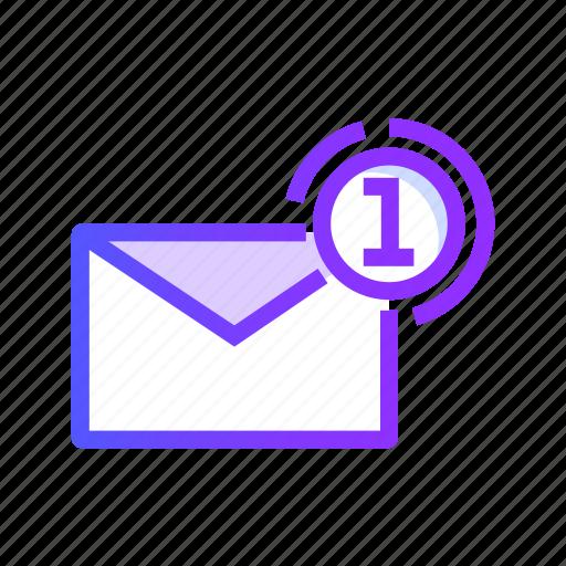communication, email, envelope, inbox, mail icon