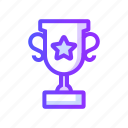 achievement, prize, throphy, trophy, winner icon